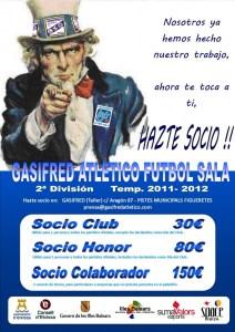 Campaña Socios Gasifred Atletico