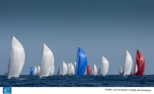 Balis Europeo J80 dia 1 flota
