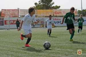 Alevines Peña Deportiva.