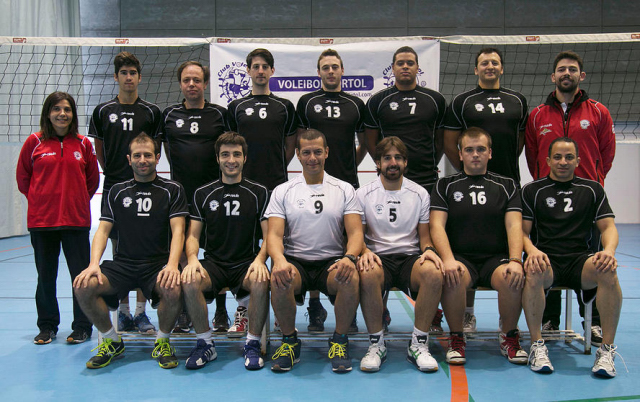 Voleibol Portol  2 balear masculino, 2015