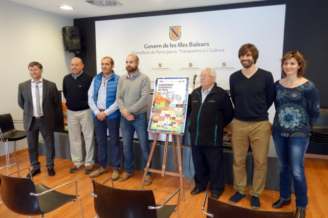 Presentación Campeonato de España de Trial