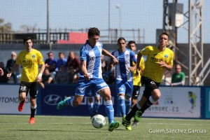 El Atco. Baleares derrota al Lleida.- foto Guiem Sánchez para Fut.balear