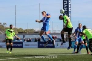 Amplia y contundente victoria del Atco. Baleares, sobre el Cd.Eldense. Foto guiem.at.bal.