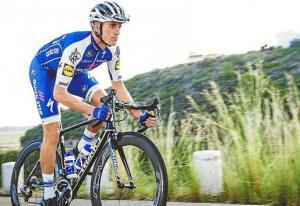 Imagen del ciclista Enric Mas durante la prueba. 06-08-2017