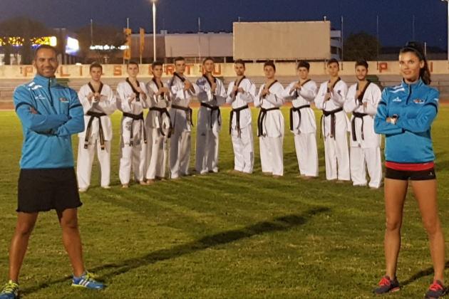 Equipo de taekwondo