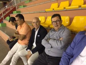 Serra Ferrer estuvo en el palco del Betis - Palma Futsal