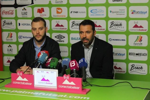 Jaume Pujol y José Tirado presentaron el acuerdo de patrocinio