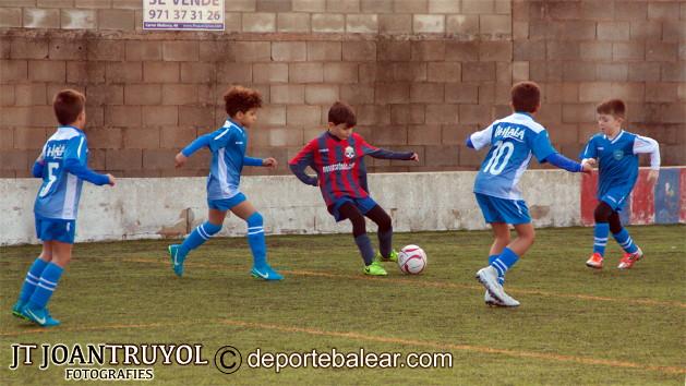 CE Ferreries y el CF Sporting de Mahón