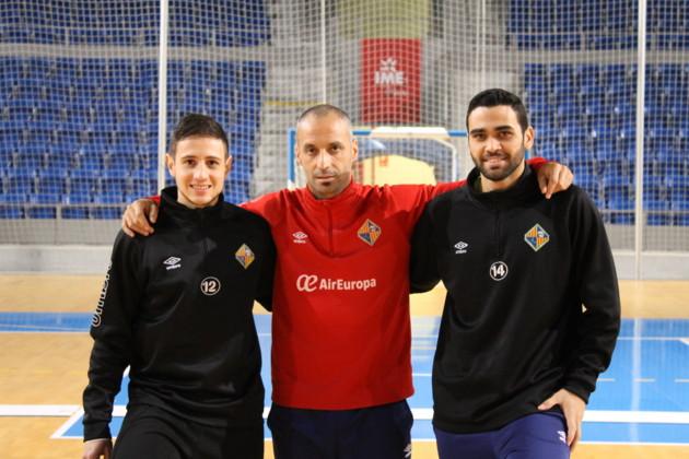 Vadillo, Nico Sarmiento y Tomaz