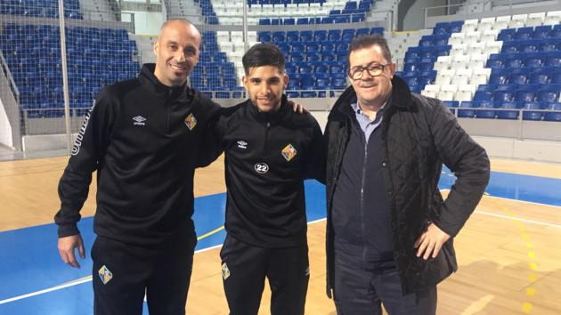 Vadillo, Claudino y Miquel Jaume, en Son Moix