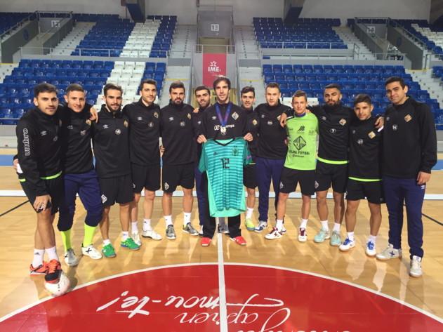 Carlos Barrón regresó a los entrenamientos tras la Eurocopa