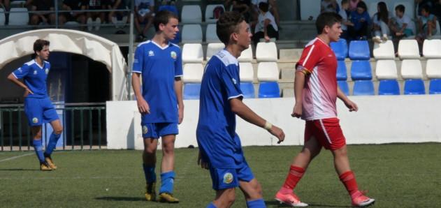 Juvenil. CCE Sant Lluís i CF Sporting de Mahón