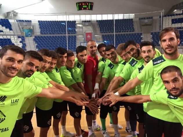El Palma Futsal posa en Son Moix