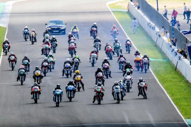 Salida Copa de España Velocidad Clásicas Jerez 2018_F. Circuito de Jerez