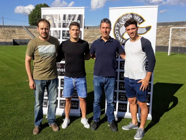 Rafel Palou, José Luis Martinez, Alberto Pareja, Isaac Calvo