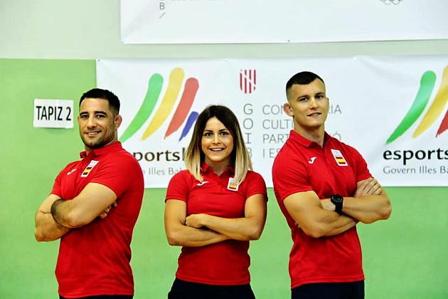 Representantes mallorquines para disputar los XVIII Juegos Del Mediterraneo