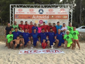 Final Sénior Masculino Fútbol Playa