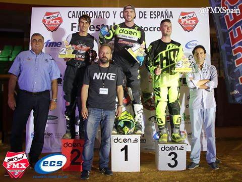 Podio FMX Estepona 2018