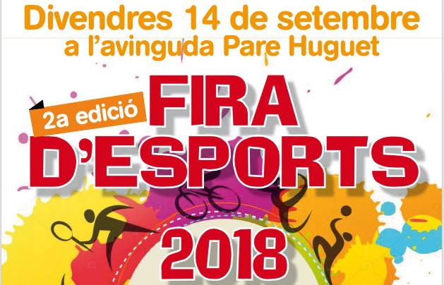 Cartell Fira Esports Alaior 2018 redu