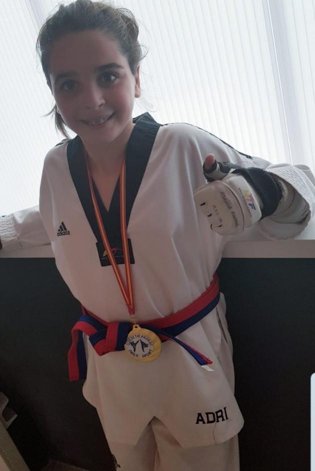 Medalla de Oro. Adriana González González , precadete