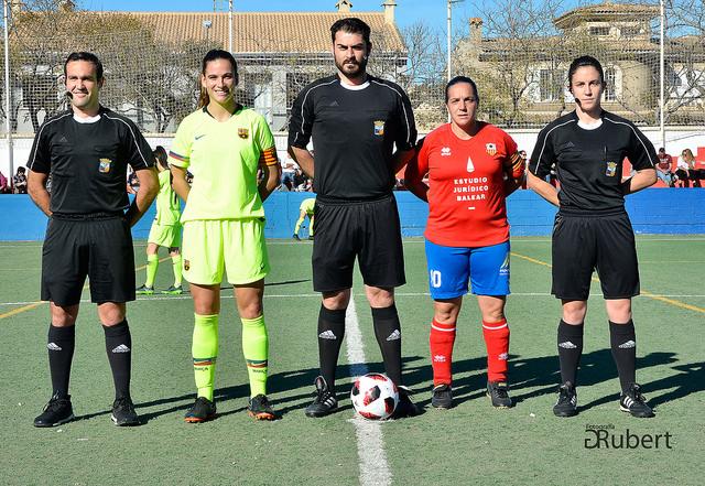 UD. Collerense VS FC. Barcelona