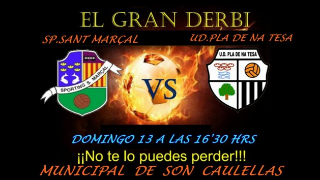 Sporting Sant Marçal VS UD. PLA. De Na Tesa