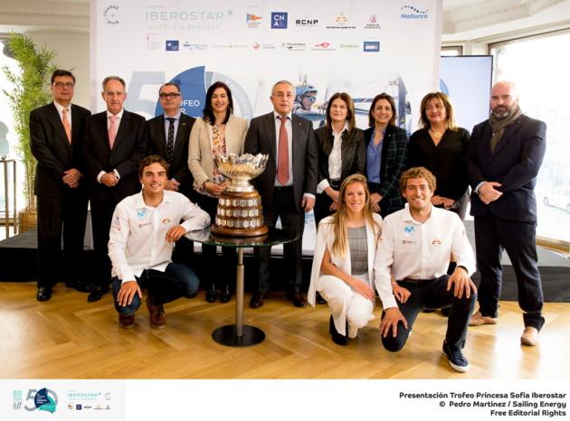 Presentación de prensa del 50th Trofeo Princesa Sofia Iberostar. ©PEDRO MARTINEZ/SAILING ENERGY 07 February, 2019.