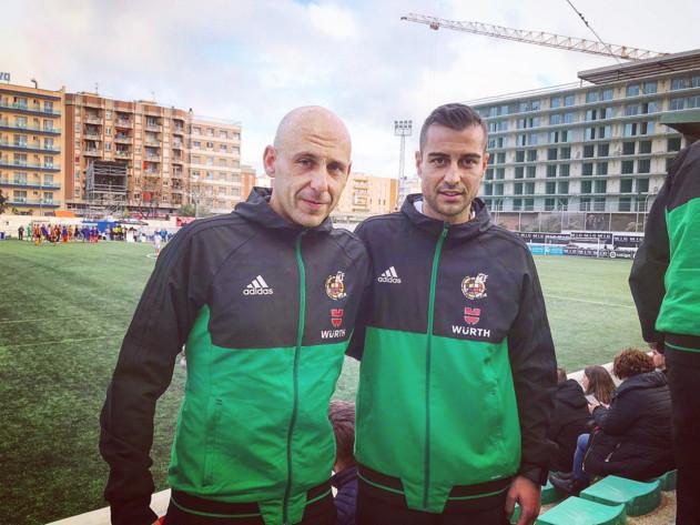 Arbitros-segunda-dvision-VAR-formacion. Santiago Varón y Rafael Rodríguez