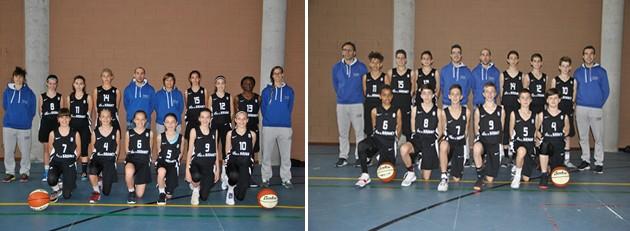 Basquet selecciones minibasket femenina y masculina