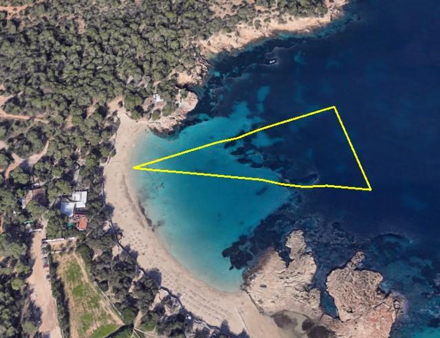 Circuito de natación (1vuelta x 500 m.)