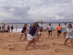beach rugby Miguel Lanús