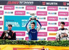 Bundziak podio ganador Cabalén