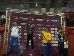 Ricardo Báez bronce Panamericano Juvenil Barinas