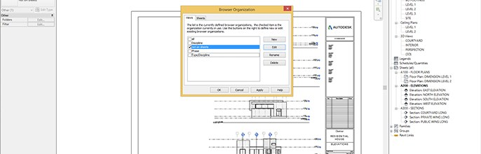 Revit Browser Organization