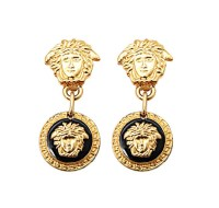 "VINTAGE GIANNI VERSACE MEDUSA EARRINGS AS SEEN IN ""THE ..."
