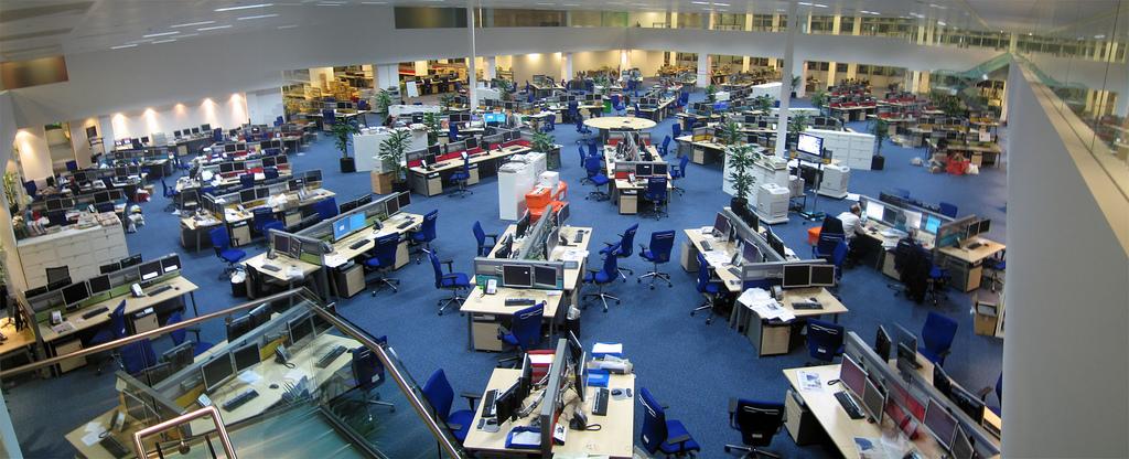 Newsroom panorama