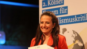Journalistin Safak Timur (Foto: J. Sturmberg/DLF)