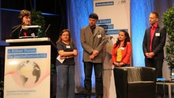 Die Verleihung des Preises im DLF 2016
