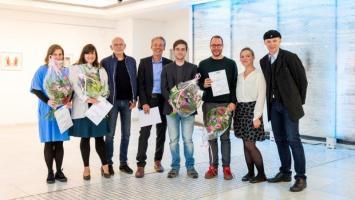 Letztjährige Preisverleihung (Foto: DLF/Jann Höfer)