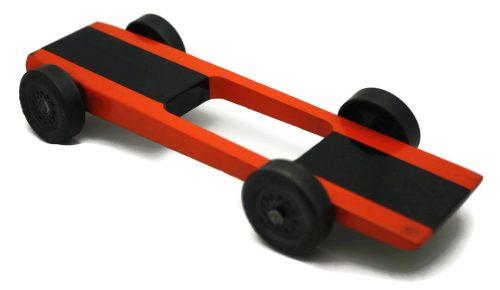 Fast Winning Ultra Lite Light Weight Pinewood Derby Car Kit