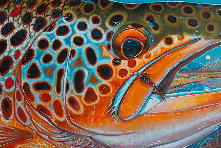 Japan Fall Colors Wallpaper Brown Trout Derek Deyoung