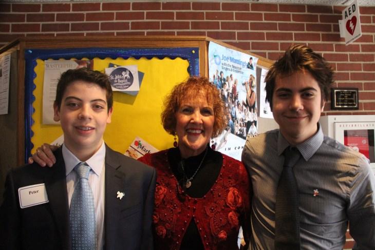 Caleb, Mrs. Brennan, and CXO