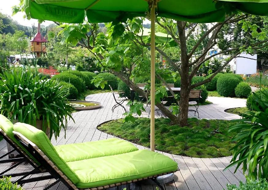 Kleine Gärten groß gestalten -) - garten gestalten bilder