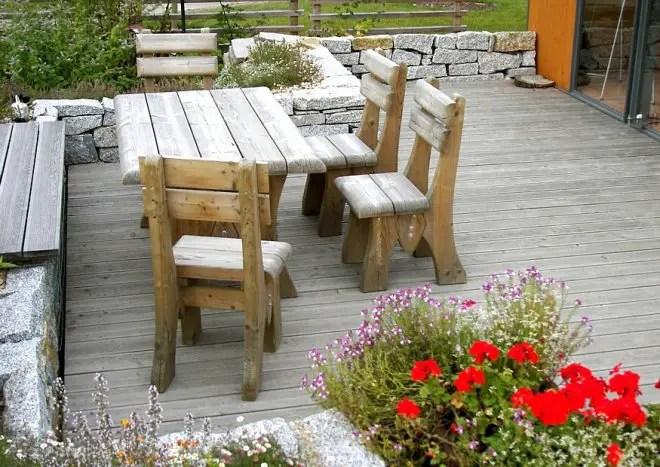 Kleine Gärten groß gestalten -) - kleine terrasse gestalten