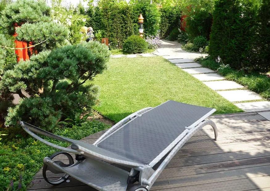 Kein Rasen in kleinen Gärten? Garten ohne Rasen anlegen - gartengestaltung kleine garten