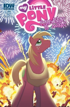 Big Mac Explosion and Fireworks Issue #10 Cover