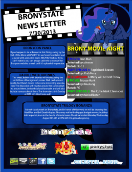 BronyState Newsletter (07/30/2013)