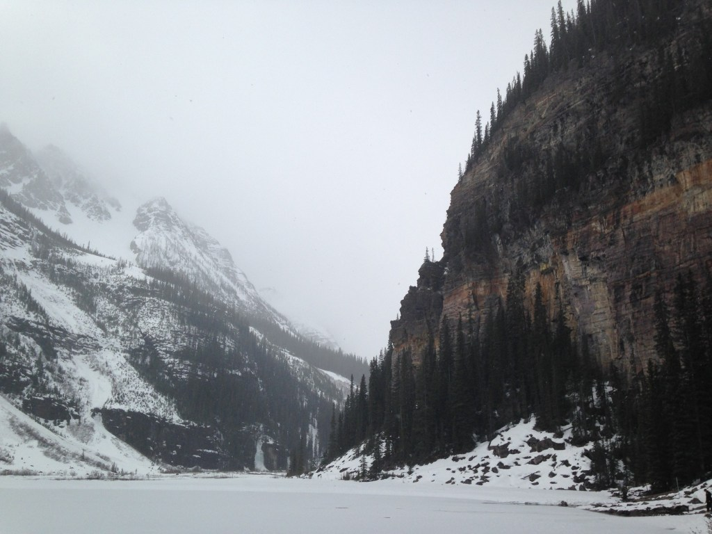 Le lake Louise, parc national de Jasper
