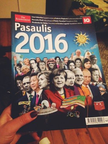 The Economist Pasaulis 2016