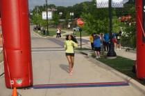 I just love running!